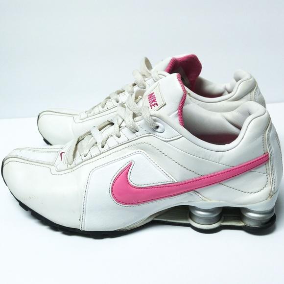 buy online 8c29c 022e1 Nike Shox Sz 10 Conundrum White Pink